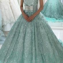 バービーのカラードレス