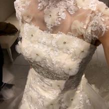 ジルスチュアートのウェディングドレス