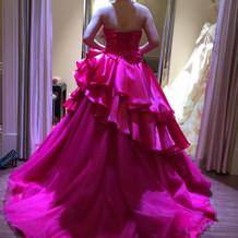 試着だけしたドレス