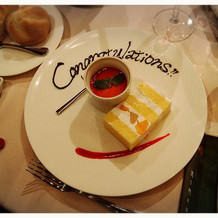 オリジナルケーキも美味しいです*