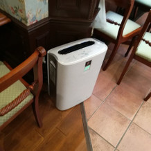 人の集まる所には空気清浄機
