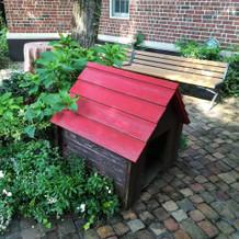 ガーデン。犬小屋。