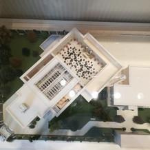 敷地内の模型2