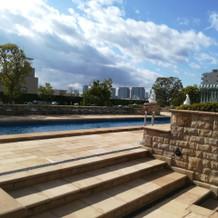 屋上プール1
