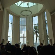 天井も広くて綺麗でした!