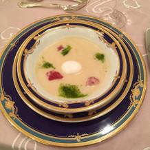 見学会で頂いたこのスープは絶品でした!