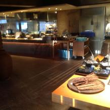和食のオープンキッチン