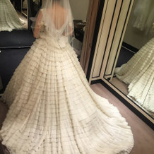 挙式スタイル イネスディサントのドレス