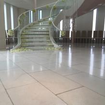 階段の演出もバッチリ!!!