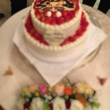 だるまケーキ。