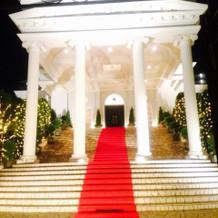 ホワイトハウスの大階段