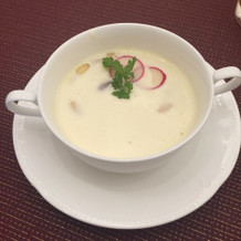 このスープがとても美味しかったです
