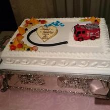 思い通りのケーキに満足*\(^o^)/*