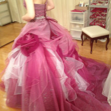 候補になったドレス