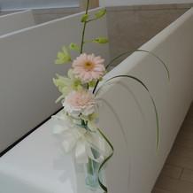 お花も可愛らしいです。