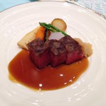 牛フィレ肉。