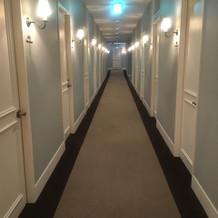 オシャレな廊下