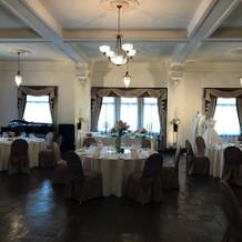 4階の披露宴会場。