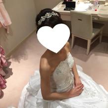 ウェディングドレス美容