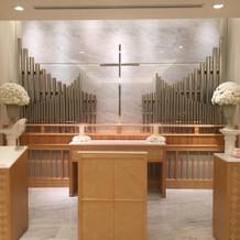 教会式の写真です。