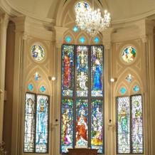 大聖堂のチャペルがとても綺麗でした