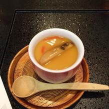 茶碗蒸し。