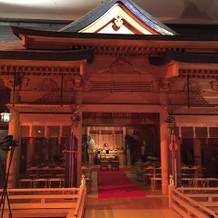 神殿の外観