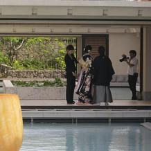 ホテル内撮影
