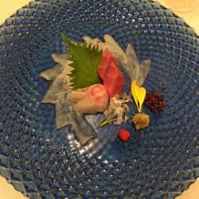河豚のお刺身とても美味しかったです!