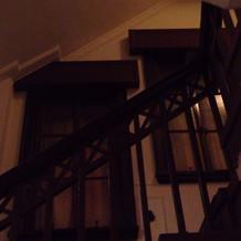 雰囲気のある階段
