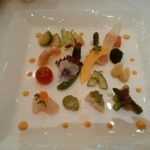 前菜・盛り付けパターン1