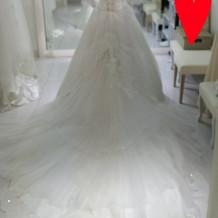 ドレス③ 後ろのレースの感じが◎