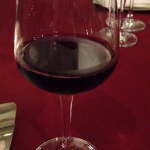 ワインではなく赤ぶどうのジュース