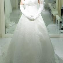 ドレス③ 本番着用