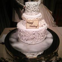 ケーキカットの雰囲気が味わえました!