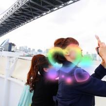 東京観光楽しんでます