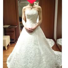 アンティーク調なドレス