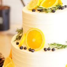 ウェディングケーキ!