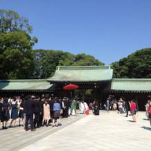 神宮での結婚式