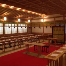 明治記念館の神殿