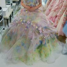 ステラのカラードレス