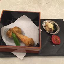 和風の器も綺麗で、料理が映えていました。