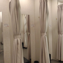 更衣室も充実!
