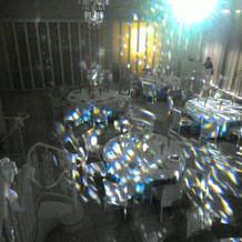 入場時の光の演出