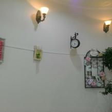 館内イメージに合った装飾