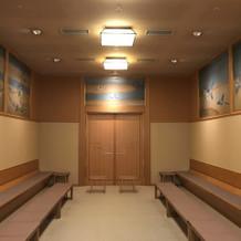 天穂殿控え室