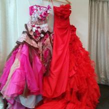 悩んだカラードレス