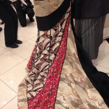 和柄ドレス!!