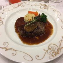 牛肉!美味しいかった。