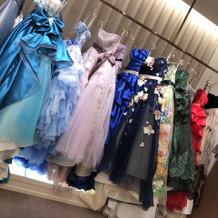 カラードレスどれも可愛い物ばかりです